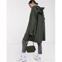 Rains - giacca impermeabile lunga verde