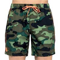 SUNDEK boxer medio con elastico camouflage