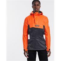 Timberland - giacca color block con cappuccio-arancione