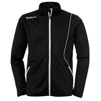 Kempa curve classic jacke, giacca da uomo, nero/bianco, l