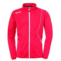 Kempa curve classic jacke, giacca uomo, rosso/bianco, 128