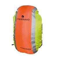 Ferrino cover reflex, coprizaino riflettente arancione/giallo, 45-90 litri