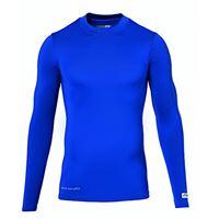 uhlsport shirt funktionsshirt la, maglietta sportiva bambino, blu (royal), 152