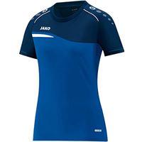 JAKO 6118 competition 2.0 - t-shirt donna, blu/marino, 40