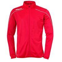 uhlsport stream 22 classic - giacca da bambino, bambini, giacca, 100519304, rosso/bianco, 152