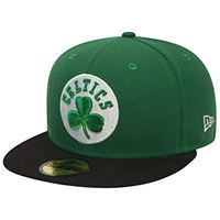 New Era nba league basic 59fifty snapback boston celtics, cap uomo, green black, 7 1/4 (57.7 cm)