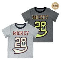 Topolino - Mickey Mouse t-shirt glow cotone topolino