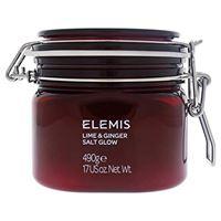 Elemis lime and ginger salt glow, sali per corpo, lime e zenzero, rinvigorenti