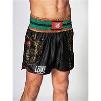 Leone 1947 pantaloncini kick-thai nero, s