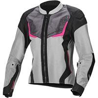 MACNA giacca donna macna orcano grigio chiaro rosa