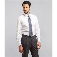 Lanieri camicia da uomo su misura, ibieffe, comfort bianca, quattro stagioni | Lanieri