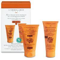 L'Erbolario kit crema solare viso e corpo spf 50+