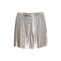 PACO RABANNE shorts in mesh