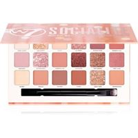 W7 Cosmetics socialite palette di ombretti 17 g