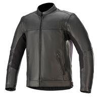 Alpinestars giacca moto pelle Alpinestars topanga nero