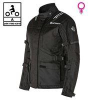 BEFAST giacca moto donna touring befast bolt lady ce certificata 3 strati nero