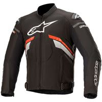 Alpinestars giacca t-gp plus r v3 nero-rosso-bianco