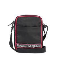 ALEXANDER MCQUEEN borsa in nylon con logo