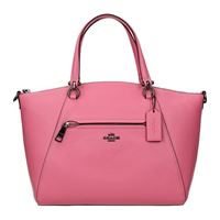 Coach borse a mano donna pelle rosa one size
