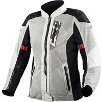 LS2 giacca moto LS2 alba lady jacket light grey black