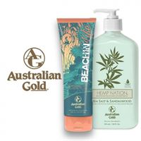 Australian Gold sandalwood + beachin