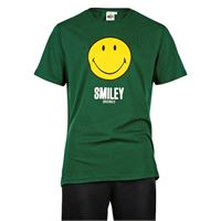 DOWN UP t-shirt smiley originals logo