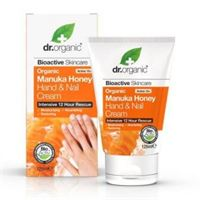 Dr. Organic crema mani e unghie hand & nail cream organic manuka honey 125 ml
