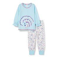 CALIDA toddlers elephant set di pigiama, blu cristallo, 80 unisex-bimbi