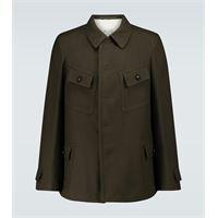 Maison Margiela giacca in lana e cotone
