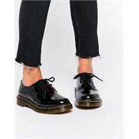 Dr Martens - 1461 - scarpe basse classiche nero patent