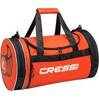 Cressi rantau bag, borsa sportiva unisex adulto, arancio/nero, 55 x 30 x 30 cm