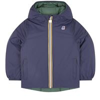 K WAY reversible down jacket jacques thermo plus double