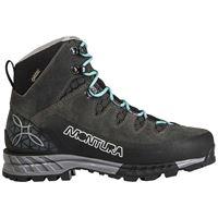 Montura scarponi trekking tre cime goretex eu 38 anthracite / ice blue