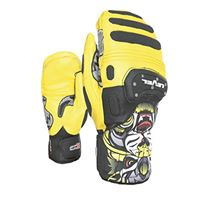 Level sq cf mitt, guanto unisex - adulto, giallo, 8.5 - ml