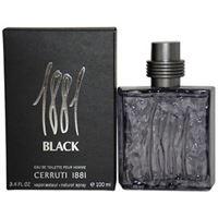 NINO CERRUTI profumo cerruti 1881 black uomo edt 100 ml spray inscatolato