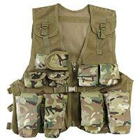 Kombat UK bambini assault btp vest, britannico terrain pattern, taglia unica