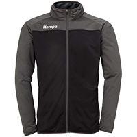 Kempa prime poly jacket giacca da pallamano per uomo, uomo, 200232703, rosso (rojo chili/rojo), s