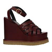 Celine sandali donna pelle rosso 36
