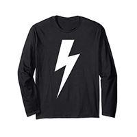 Lightning Bolt Co. fulmine per bambini, ragazzi, ragazze, uomini e donne maglia a manica