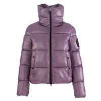 SAVE THE DUCK giacca piumino donna SAVE THE DUCK lucky | viola animal free