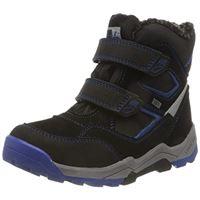 Lurchi tim-tex, stivali da escursionismo bambino, cobalto nero, 33 eu