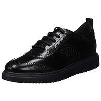 Geox d thymar f, scarpe da ginnastica basse donna, nero (black c9999), 40 eu