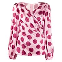 Dolce & Gabbana blusa a pois - rosa