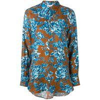 AMI Paris camicia oversize - marrone