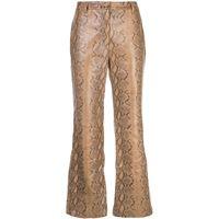 Nili Lotan pantaloni vianna - marrone