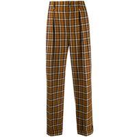 Saint Laurent pantaloni dritti - arancione