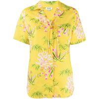Kenzo camicia a fiori - giallo