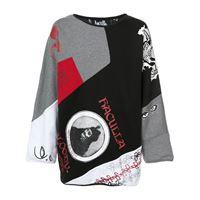 Haculla gallery reversible sweater - grigio