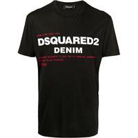 Dsquared2 t-shirt con stampa - nero