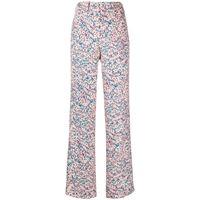 Nº21 pantaloni a fiori - multicolore